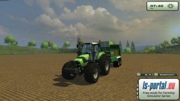 Deutz Fahr Agrotron TTV 430 ls2013