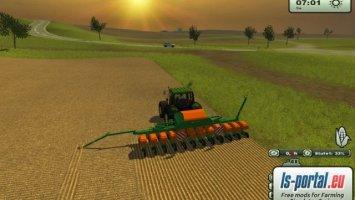 Amazone maize seeder
