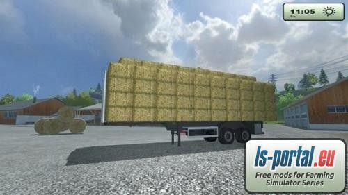 Agroliner bale trailer LS2013