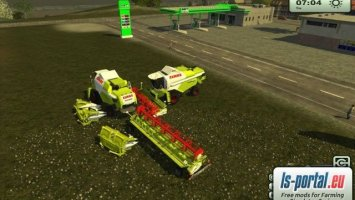 Claas Tucano complete Package