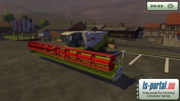 Claas Vario 1200 animated