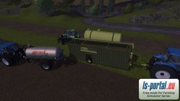 Feldrand Container Zubringer 45.000L