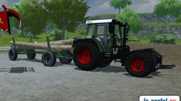 Fendt wood trailer LS2013