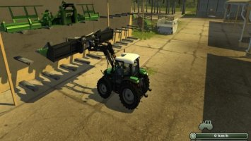 Frontloader attacher for cutters ls2013
