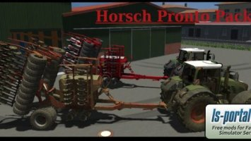 Horsch SW 3500S + Pronto 6AS + Maistro RC