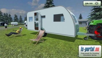 Hymer camping