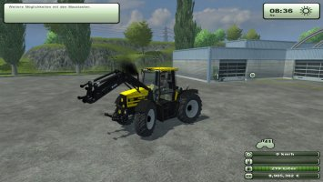 JCB Fastrac 2150 with frontloader ls2013