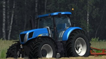 New Holland T7030 PloughingSpec