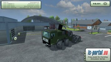 MAN TGA Truck Olive