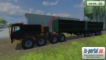 MAN TGA Truck Schwarz