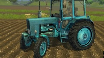 MTZ 80 Blue + PloughingSpec ls2013