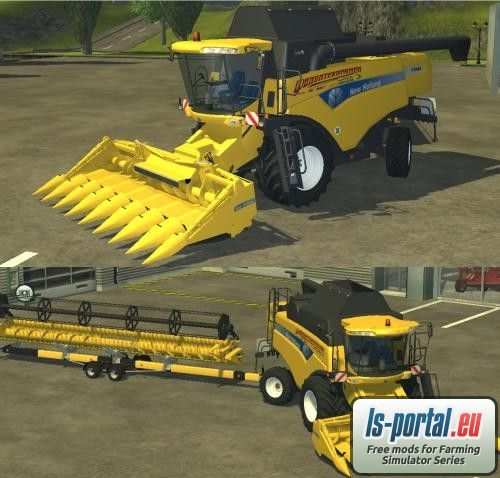 Categories: Farming Simulator 2013 › Combines › New Holland