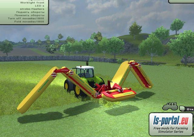 Farming Simulator 2013 Mower Mods