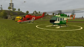 Police helicopter LS2013