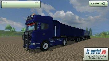 Scania AGRO blue
