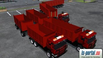 SCANIA AGRO PACK RED