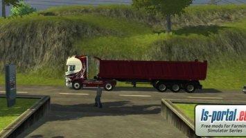 Scania R560 plus Agroliner40