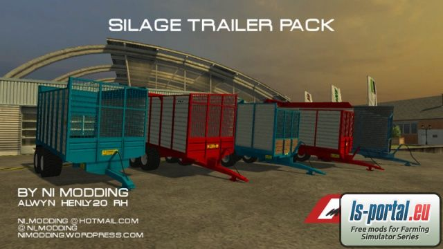 Silage Trailer Pack LS2013