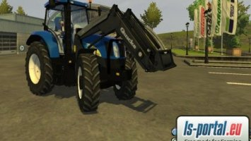 New Holland 6050 + frontloader