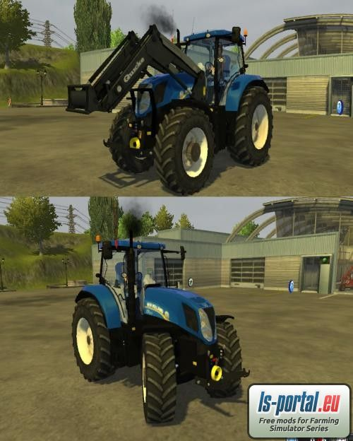 New Holland T7200 LS2013