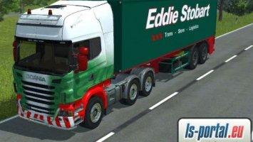 Scania R730 + Agroliner stobart