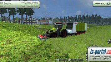 Claas Cargos 9500 Multiwagen