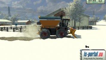 Claas Xerion 3800 SaddleTrac wersja komunalna zimowa v1.1 LS2013