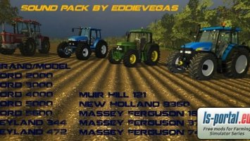 Classic UK and USA tractor sound pack