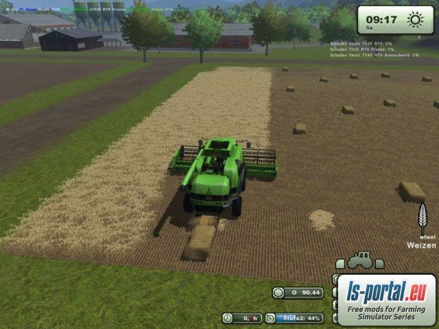 deutz 7545 rts pack ls2013 mod mod for landwirtschafts simulator 2013 ls portal. Black Bedroom Furniture Sets. Home Design Ideas