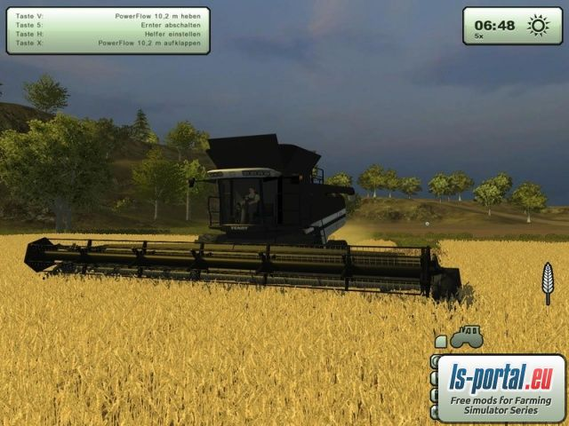 Fendt 9460 R Black Beauty Edition v3 Mod for Farming Simulator 2013