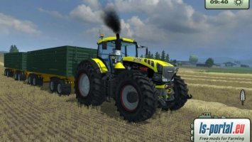 Fendt Vario 939 Yellow Bull