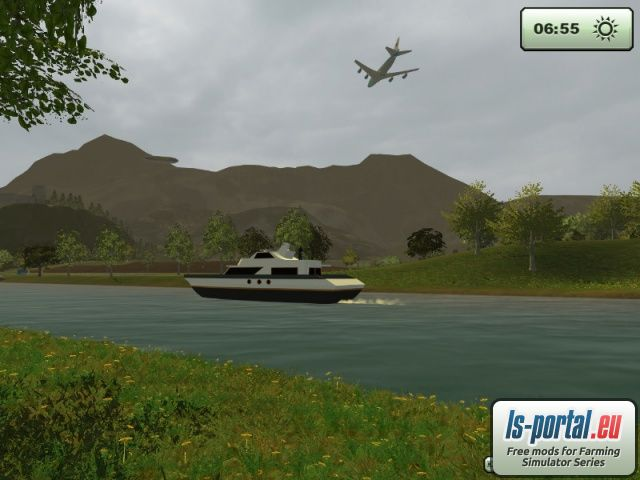 Motor Yacht Mod for Farming Simulator 2013