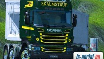 Scania R500 + trailer
