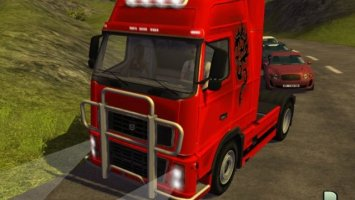 Volvo FH16 Red