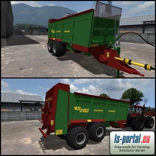 Farming Simulator 2013 Mods Manure Spreaders