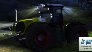 Claas Xerion 5000 TracVC Night Edition