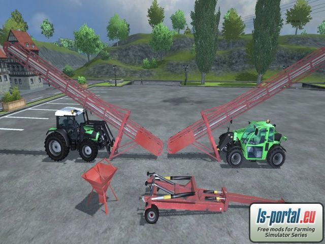Loaders and excavators Swathers Maps and Buildings