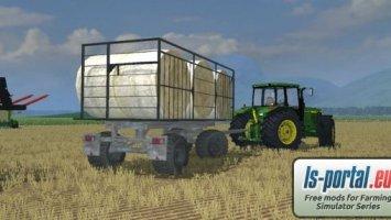 HW80 Bale trailer