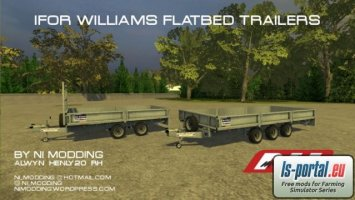 Ifor Williams Flatbed Trailers
