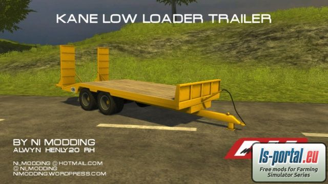 Kane Low Loader LS2013