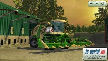Krone BigX 1100 By Agrarservice L&N