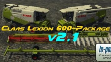Claas Lexion 600 Package v2.1