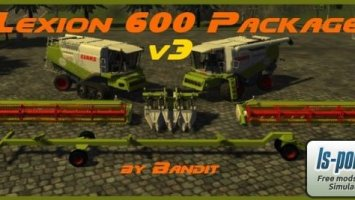 Claas Lexion 600 Package v3