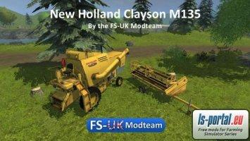 New Holland Clayson M135