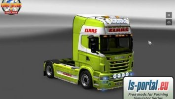 Scania Skin Claas