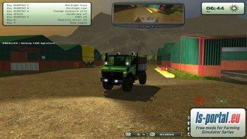 Unimog 1450 AgroFarm v3