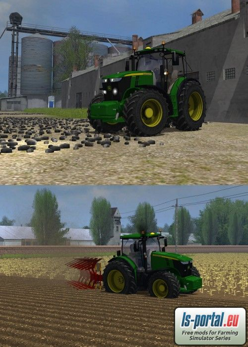 Deere 7280r ls2013 mod for farming simulator 2013 ls portal picture to pin on pinterest pinsdaddy