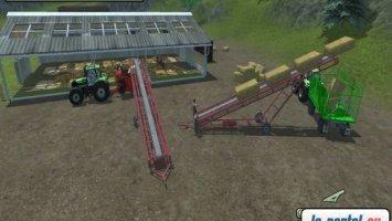 Bale Conveyor belt LS2013