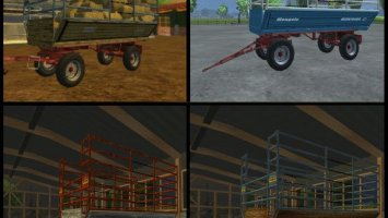 Bale trailer pack LS2013