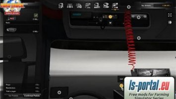 Scania Interior Accessories ETS2